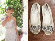 Dazzling Flats for Your Bridal Party