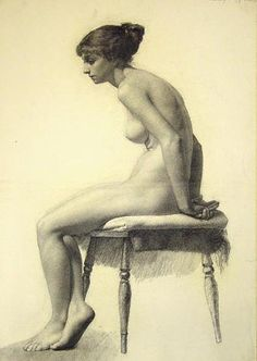 Inspirational Artworks: Misc. academic figure drawings