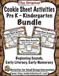 Cookie Sheet Activities Bundled!