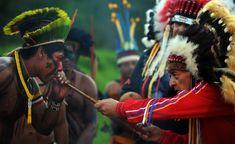 Tupiniquins no Exterior: Os índios na Rio+20