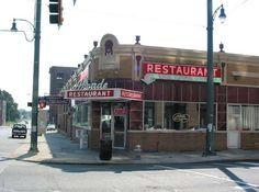 the Arcade in Memphis, TN.  Wonderful old fashioned breakfast.
