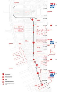 NY Highline map. Good graphic!