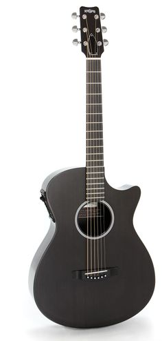 "One of if not the best travel guitar on the market Rainsong Guitars SG ""Shorty"" carbon fibre acoustic-electric guitar"