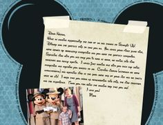 Love this idea of scrapbooking letters to your kids