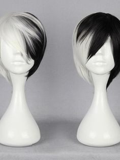 Japanese Dangan-Ronpa Series Mixed Color Cosplay Wigs