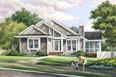 Bungalow Style House Plan - 3 Beds 2 Baths 1504 Sq/Ft Plan #137-270 Exterior - Front Elevation - Houseplans.com