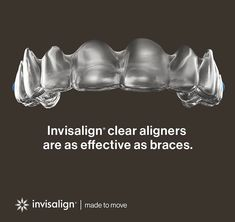 #Invisalign are the new #clearbraces ... #InvisalignSmile #SmilesbyGO #gladwellorthodontics #raleighorthodontist