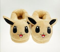 Pokemon Eevee Plush Slippers