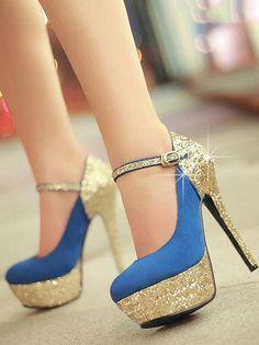 Sparkly high heels <3