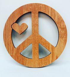 love and peace wallart - Wanddeko