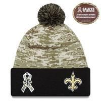Čepice New Orleans Saints Salute to Service On Field, New Era