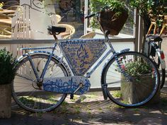 Delft - Holland.  Can find blue and white everywhere...