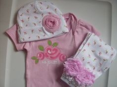 Hey, I found this really awesome Etsy listing at https://www.etsy.com/listing/229203622/newborn-take-home-outfit-baby-girl