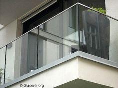 Resultado de imagem para balkongeländer glas