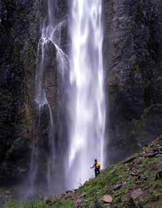Comet Falls - Mt Rainier National Park.  The U.S. National Parks are amazing  - we cannot let the clear cutting mongers take them away from us - these places are priceless - sacred.