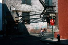 Minetta Lane, Manhattan, 1981   From a unique collection of photography at https://www.1stdibs.com/art/photography/