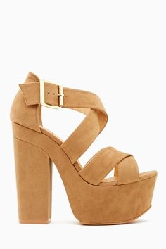 Taupe shadow platforms