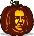 Pumpkin Carving Patterns and Stencils - Zombie Pumpkins! - Severus Snape pumpkin pattern - Harry Potter