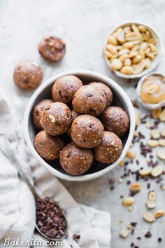 These CacaoPeanutButter Fat Bombs taste like an indulgent treat, but they're actually super filling and fueling! Made with peanuts, peanut butter, and cacao nibs, these fat bombs are a gluten-free, keto, vegan, and low-sugar treat that makes the perfect snack.