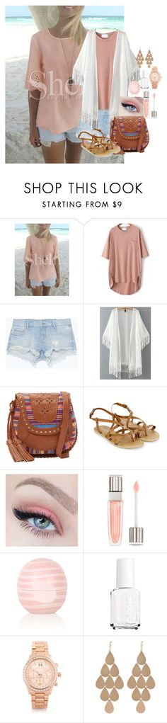 """""""Come Back to Me"""" by pancakemafia ❤ liked on Polyvore featuring Zara, Isabella Fiore, Accessorize, Lancôme, Topshop, Essie, Michael Kors and Irene Neuwirth"""