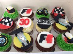 Formula1 cupcakes