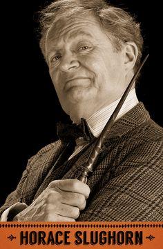 Horace Slughorn, Potions professor, Head of Slytherin house. #HarryPotter #Hogwarts #Slytherin #Slughorn
