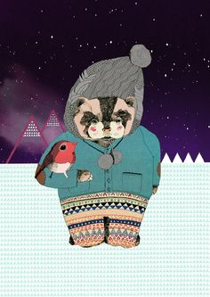 just a hipster badger.