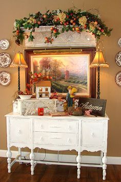 This is the cutest house and blog ever! Aunt Ruthie's Sugar Pie Farmhouse....I want to move in!