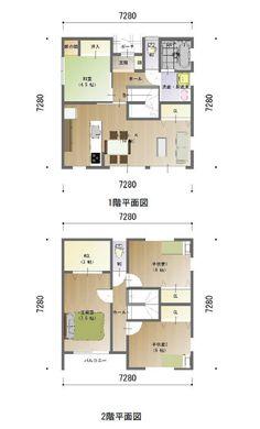 間取り 企画プラン 32坪 Floor Plans, House, Furniture, Home, Haus, House Floor Plans, Houses, Arredamento