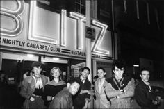Visage Outside The Blitz Club 1980