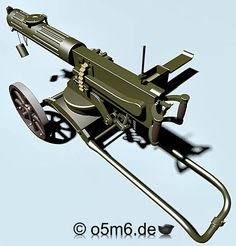 Engines of the Red Army in WW2 - Maxim 7.62mm Model 1910 Machine Gun