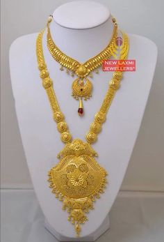Gold Jewelry Design In India Key: 8921139057 Gold Jewelry Simple, Gold Jewellery Design, Necklace Designs, Gold Mangalsutra, Gold Necklace, Afghan Dresses, Lahenga, Collections, Jewelry Holder