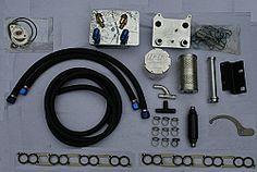 IPR External Oil Cooler Kit for Ford 6.4 Powerstroke