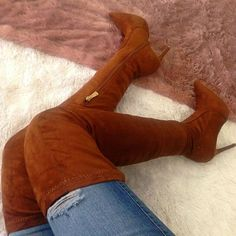 Stretchy Thigh High Pointy Boots