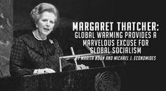 """Global warming provides a marvellous excuse for global socialism"" Margaret Thatcher#ActOnClimate #ParisAgreement #Cdnpoli #UKPoli #ABPoli #GE2017 #Brexit"