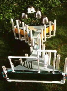 Vibulon PVC etc. instrument for the back yard. Beautiful!