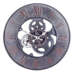 'Williams' Large Metal Round Wall Clock For The Home #dining #diningroom #modern #different #home #accessories #clock