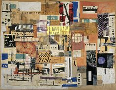 "Eduardo Paolozzi, Collage, 1953 From the National Galleries of Scotland: "" Collage was of crucial importance throughout Paolozzi's work - many of his sculptures and prints were made in a collage. Pop Art, Cultura Pop, Sketchbook Inspiration, Art Sketchbook, Photomontage, Eduardo Paolozzi, Modern Art, Contemporary Art, Claes Oldenburg"