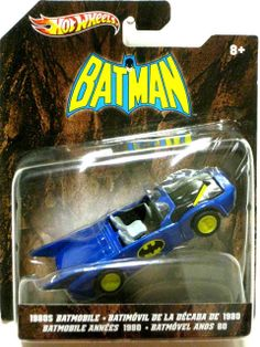 1/50 HOT WHEELS BATMAN 1980'S BATMOBILE SERIES 6