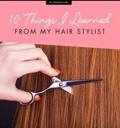 Team MDC recently went on a haircut frenzy and we've picked up some tips from one of our faves, stylist Anna Wiles, as well as a few other tips along the way!