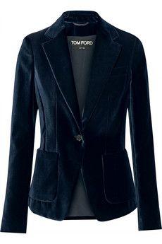 Tom Ford Velvet blazer | NET-A-PORTER                                                                                                                                                      More