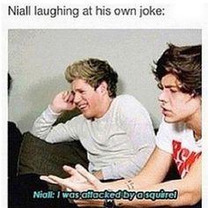 Niall hahaha