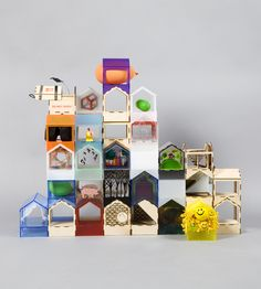 A Dolls' House: 20 of the World's Best Architects and Designers build a dolls' house for KIDS on http://www.bellissimakids.com