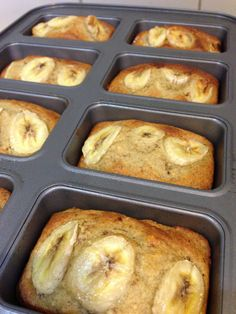 Mini Banana Bread Loaves in the Thermomix