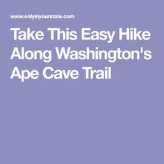 Take This Easy Hike Along Washington's Ape Cave Trail