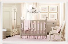 Oh my goodness, I have come across the cutest baby girl nurseries from baby&child Restoration Hardware. These nurseries are gorgeous and ha...