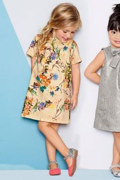 Buy Floral A-line Dress (3mths-6yrs) from the Next UK online shop