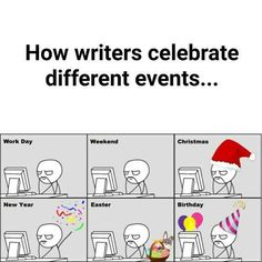Holidays For Writers