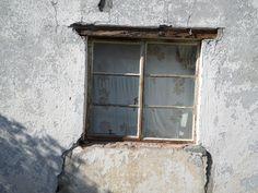 Distressed Window 2 canvas print
