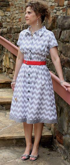 Shirtwaist dress pattern